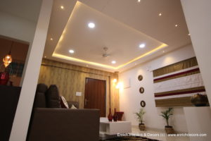 Living Room False Ceiling View